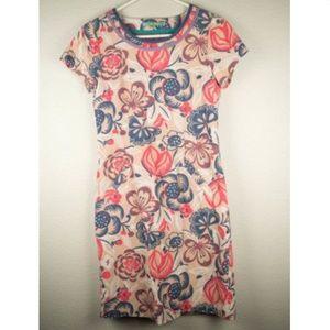 Boden Women's S 2R Floral Corduroy Dress